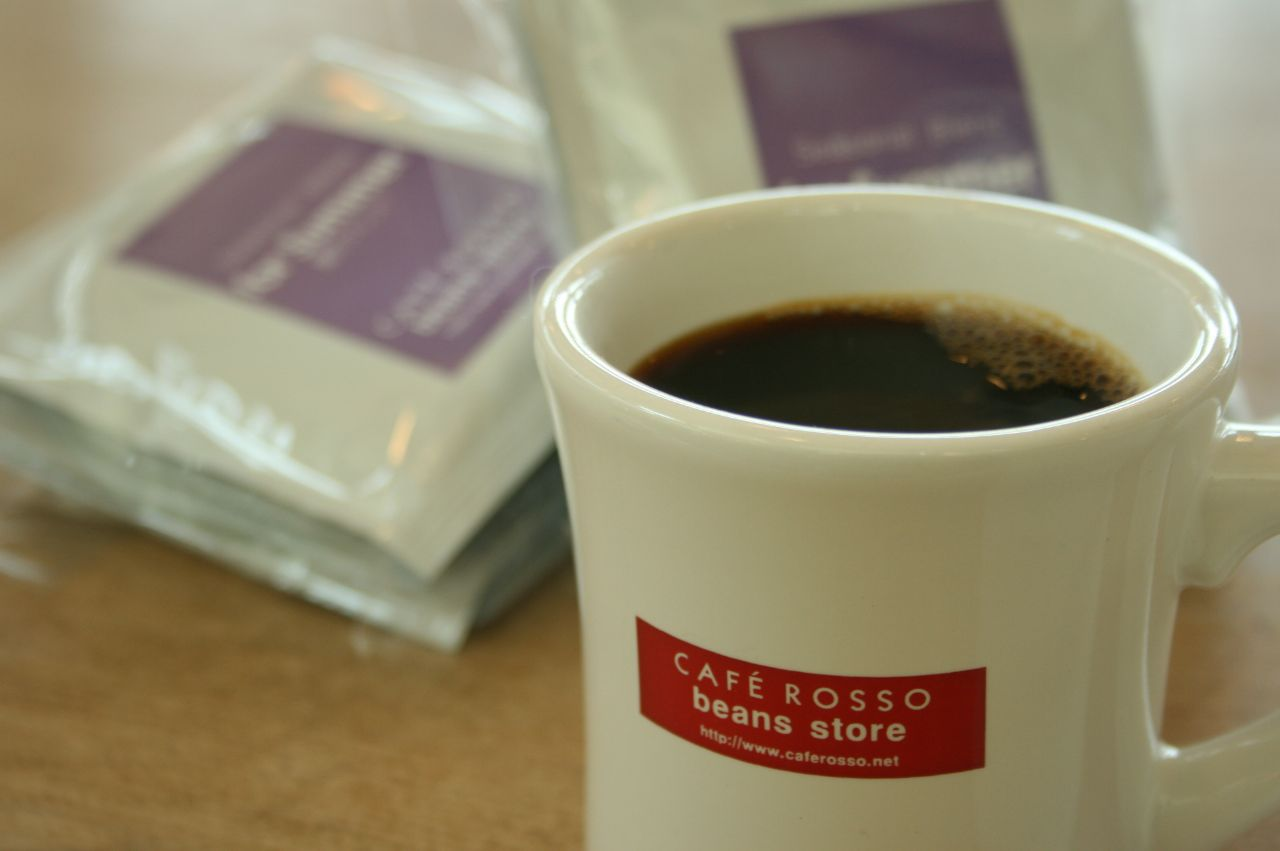 WELCOME !    CAFE ROSSO Beans Store